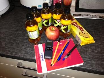 Survival-Kit für eine Nachtschicht