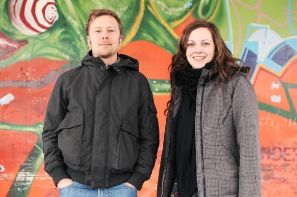 Christoph Pengel und Julia Keller