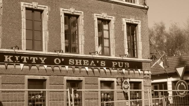 Auf ein Bier mit einem Abgeordneten: In diesem Irish Pub gleich neben der Kommission ist ab mittags richtig was los.
