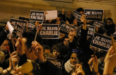 Solidarität junger Journalisten in Tours, Foto: Hugo Flotat-Talon