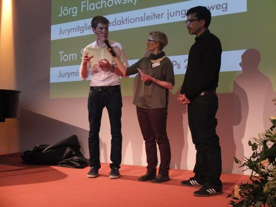 Tom Solbrig, Lydia Herms und Jörg Flachowsky (von links)